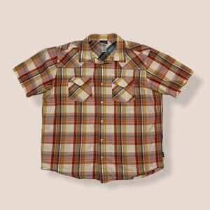 Patagonia Three Trees Plaid Short Sleeve Shirt